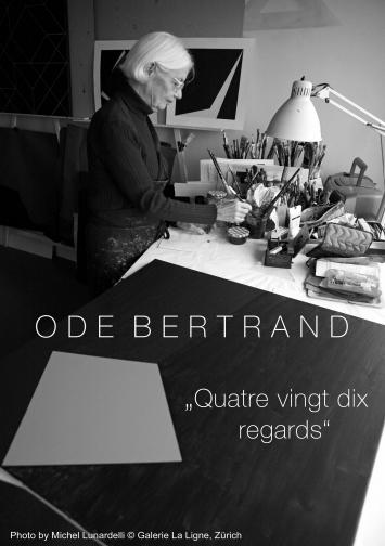 Ode Bertrand - anniversary exhibition