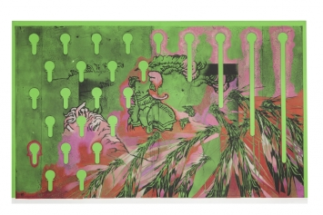 Cédric Eisenring,Captive, Green,2017