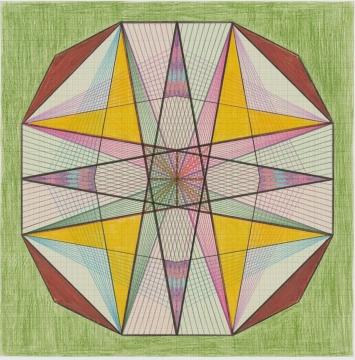 Emma Kunz (1892–1963), Werk-Nr. 39364 x 64 cm© Emma Kunz Zentrum