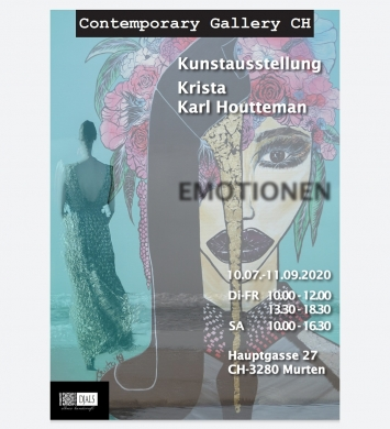 "Plakat ""Emotionen"""