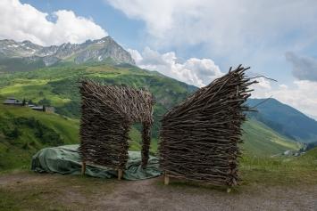 Erlenkubus mit Aussicht von Präkuscha. Bild: Marietta Kobald