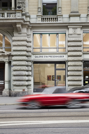 Galerie Eva Presenhuber, Foto: Yves Roth