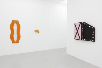 Ausstellungsansicht,blair thurman / justin adian, 2018, galerie lange + pult, Zürich,Foto: Sully Balmassière