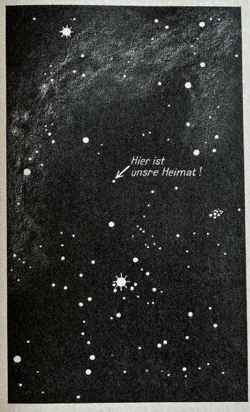 «Hier ist unsere Heimat», in: Bruno H. Bürgel, Aus fernen Welten – Eine volkstümliche Himmelskunde, Berlin 1939