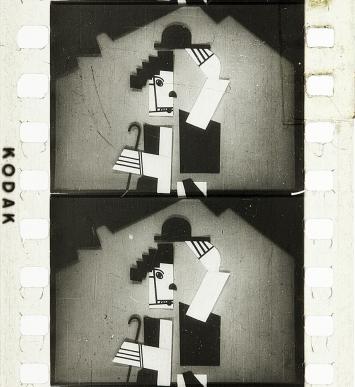 Fernand Léger and Dudley Murphy · Le ballet mécanique, 1923