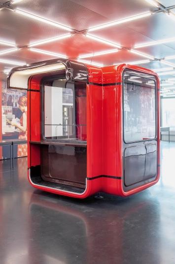 Saša J. Mächtig · Kiosk K67, Ausstellungsansicht gta Ausstellungen, ETH Zürich, Hönggerberg, 2019.Foto: Nelly Rodriguez