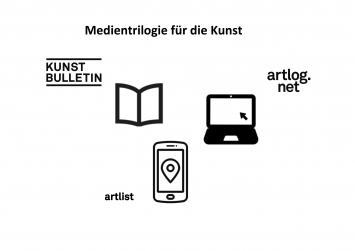 Kunstbulletin, artlog.net und artlist.net– eine Medientrilogie