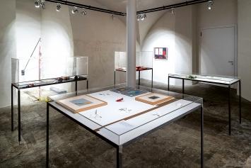 Ausstellungsansichten Emmy Hennings/ Sitara Abuzar Ghaznawi, Cabaret Voltaire,  Eröffnungswochenende, 13.–15.3.2020.Foto: Gunnar Meier