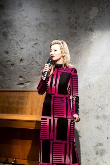 Salome Hohl, Cabaret Voltaire Zürich, Eröffnungswochenende, 13.3.2020.Foto: Gunnar Meier