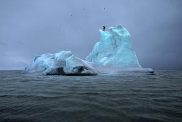 Julian Charrière · The Blue Fossil Entropic Stories I, 2013 ©ProLitteris
