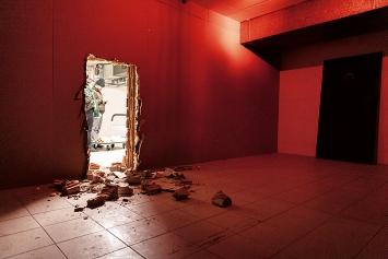 GAFFA bei Büro für Folgendes im Pausenraum (Baustelle), Fredy Gaffa·24.1. – 14.2.2020.Foto: Pius Bacher