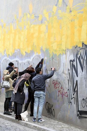 Die Revolution der Normalität, Tour des Kollektivs Tun in der alltägliche(n) Stadt, März, 2020