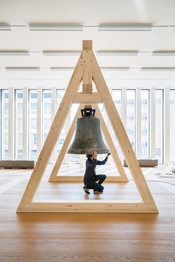 The Sense of Things, 2021, Installationsansicht Kunsthauserweiterung Zürich.Foto: Franca Candrian