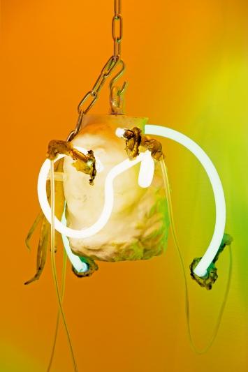 TAFAA– Acid-Rave (détail), 2019, Vue de l'exposition personnelle au Musée des Beaux-Arts de La Chaux-de-Fonds.Photo: Florimond Dupont