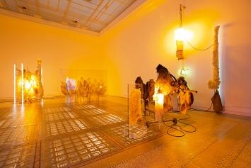 TAFAA – Acid-Rave, 2019, vue de l'exposition personnelle au Musée des Beaux-Arts de La Chaux-de-Fonds.Photo: Florimond Dupont