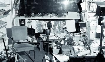 La librairie Ecart en 1978. ©Archives Ecart, Genève