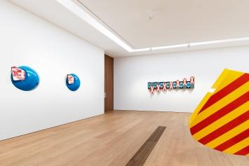 René Bauermeister · California Dreaming, vue d'exposition Musée cantonal des Beaux-Arts de Lausanne, 2021.Foto: Étienne Malapert