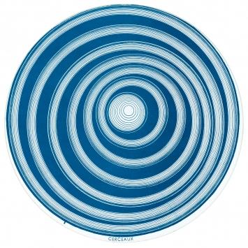 Marcel Duchamp · Rotorelief (disque optique), 1935/1953, édition de 1953, impression offset recto verso en couleur sur carton, ø 20cm, Musée des Beaux-Arts, Métropole Rouen Normandie ©ProLitteris. Photo: Agence Albatros