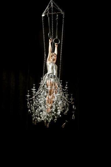 Messaline, 2012, performance, 40 ans du Prix culturel Manor, Aargauer Kunsthaus, Aarau.©Jean Rochat