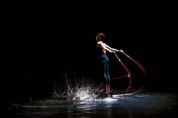 Laniakea, 2020, performance, Arsenic, Centre d'art scénique contemporain, Lausanne.Photo: S. Anthon