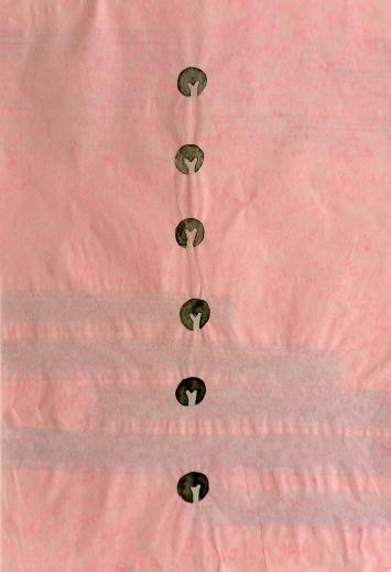 Zeichnung (aus dem Werkzyklus ‹The Fictional Plant Diversity›), 2021, Aquarell und Tusche auf Papier, 30x20cm (beidseitig, hinterlegt)
