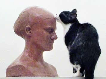 Selbstporträt für die Katze, 2006, Video 11''48', Ton. Courtesy Galerie Gisèle Linder.