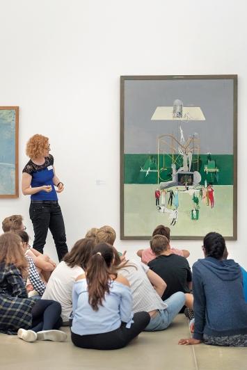Dialogische Führung, Surrealismus Schweiz, Aargauer Kunsthaus, Aarau, 2018