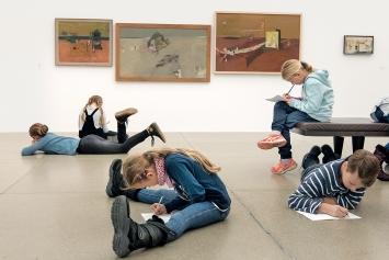 Kunst-Pirsch, Kinder, Surrealismus Schweiz, Aargauer Kunsthaus, Aarau, 2018