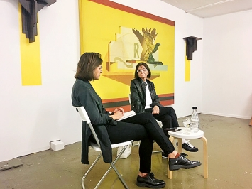 Silvie Defraoui, Last Tango, Zürich, 25.8.2018; Foto: Le Foyer
