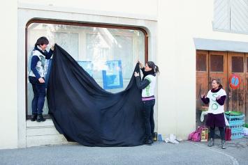 data | Auftrag für parasitäre* Gastarbeit · Il est onze heures quinze, Vernissage, 5.5.2019. Fotos: Daniela Anker und Alexandre Becholey