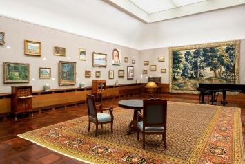 Herzkammer– 30 Jahre Museum Langmatt, Ausstellungsansicht Museum Langmatt, 2020