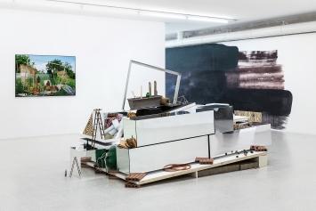 Giardini di domani, 2018, diverse Materialien, Ausstellungsansicht Collezione Maramotti, Reggio Emilia ©ProLitteris.Foto: Roberto Marossi