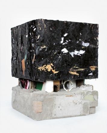 Wachsbau, 2020, diverse Materialien, 45x33x33cm ©ProLitteris