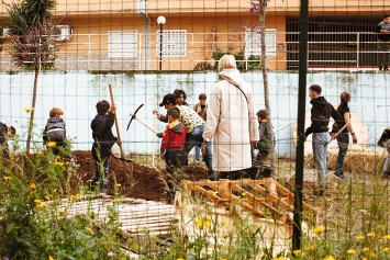 Gilles Clément & Coloco · Gartenprojekt Zona Espansione Nord, Palermo, 2018, Courtesy Manifesta.Foto: Cave Studio