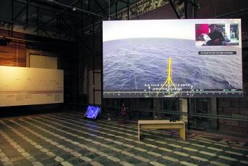 Forensic Oceanography · Manifesta 12 Palermo, 2018.Foto: Wolfgang Träger
