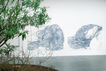 ‹14 (2) und (4)›, 2014, Grafit und Kugelschreiber auf Papier, 180,3x238,7cm, Courtesy SikkemaJenkins & Co. Galerie.Foto: Patricia Grabowicz