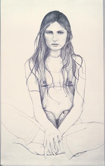 Marlene Olive – June 21, 1976, 1995–1997, Grafit auf Papier, 150x231cm, Sammlung A. Schindler