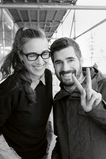 Caroline Hirt und Christian Etter, Co-Direktoren und Gründer des MuDA.Foto: Digital Arts Association