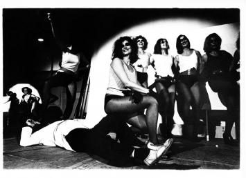 Panzerknackerballett (Mitte: Bice Curiger), 1975