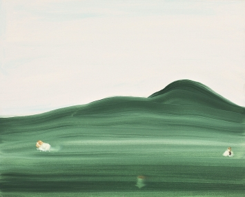 Luisanna Gonzalez Quattrini · Lover Landscape, 2016, Acryl auf Leinwand