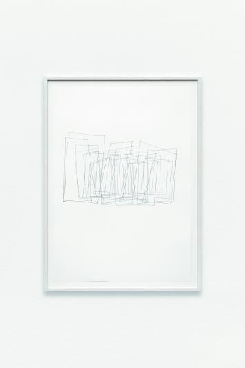 Nougat (auffächern), 2008, Bleistift auf Papier, Courtesy Galerie Mitterrand, Paris.Foto: Aurelien Mole