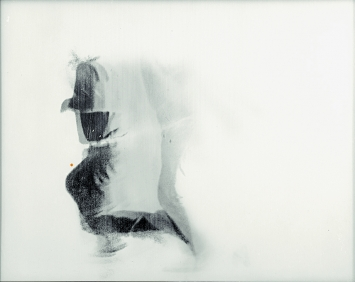 The Falling Man, 1969, drei Linsenrasterfotografien aus der Serie, je 26,5 x 33,5cm © ProLitteris