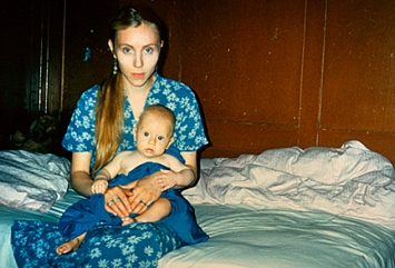 Annelies Štrba · Sonja mit Samuel-Maria, aus ‹Shades of Time›, 1995 ©ProLitteris↗ www.strba.ch
