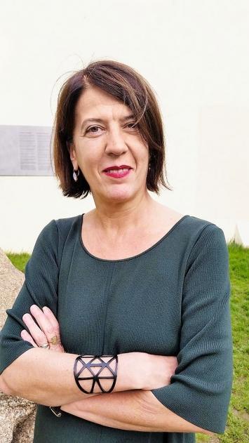 Catia Riccaboni, verantwortlich für das Kultur-Programm der Fondation de France, Paris