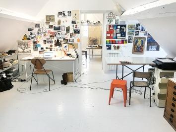 Atelier Ulla von Brandenburg, Nogent l'Artaud