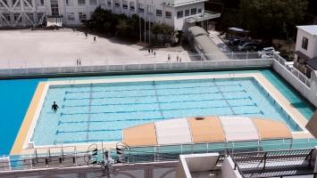 "Swimming Pool, 2019, 1-Kanal-Video, Farbe, ohne Ton, Loop, 14' 17"""