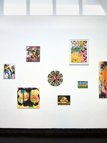 Artist_Proof_02 (Detail), 2019/2020, Tapete, Digitaldruck auf Blueback Paper, 305x2102cm, Courtesy Galerie Mark Müller, Zürich, und Sfeir-Semler Gallery, Hamburg/Beirut, und die Künstlerin