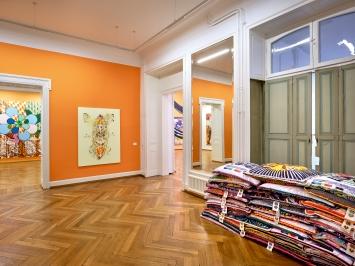 Lange Arme, kurze Beine, Ausstellungsansicht Kunstmuseum Thun, 2020.Foto: David Aebi