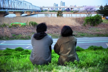 Vulnerable Histories (A Road Movie), 2018, production photo. Courtesy of the artist, Vitamin Creative Space (Guangzhou), Aoyama Meguro (Tokyo)