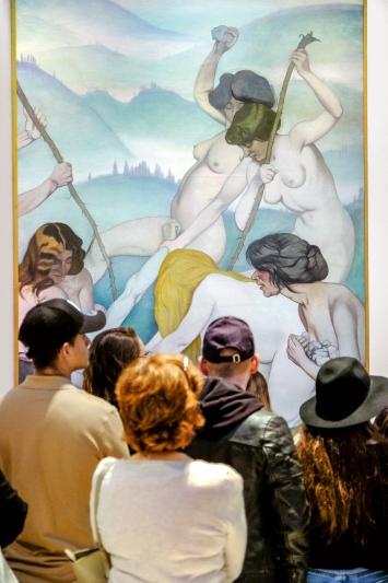 Musée d'art et d'histoire de Genève · Museumsnacht 2019.Foto: Mike Sommer